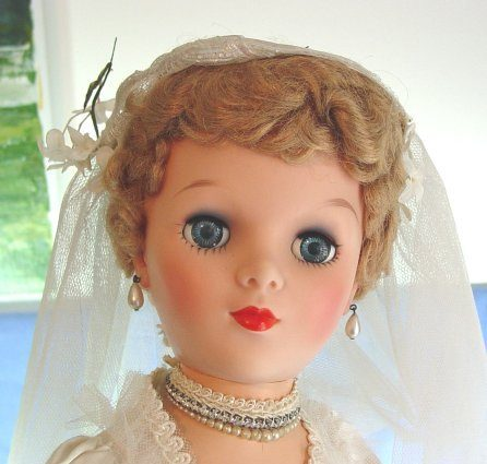 28″ Bride Doll by Eegee (1950s)