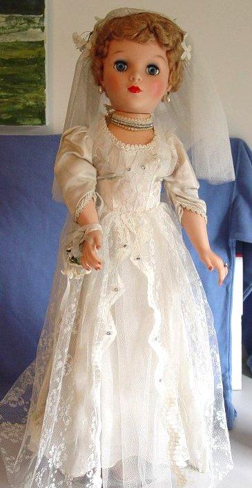"Eegee 28"" Bride Doll"