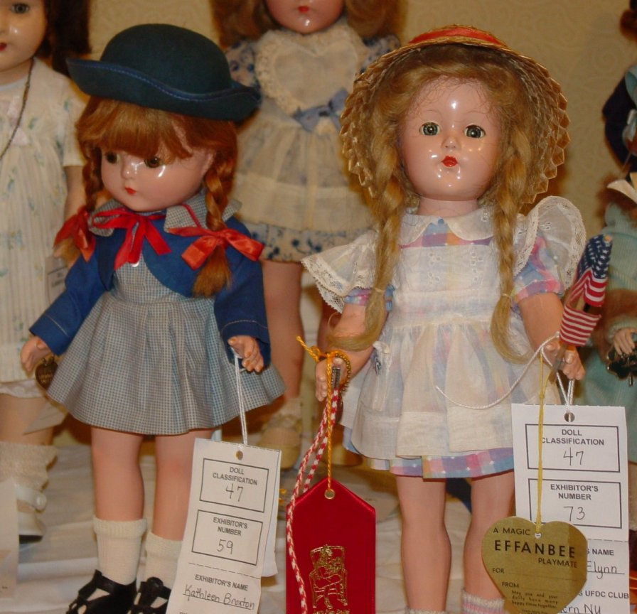 Effanbee composition dolls
