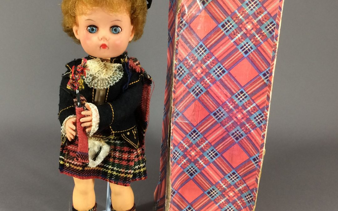 Highland Lassie, a Pedigree Authentic Tartan Dressed Doll