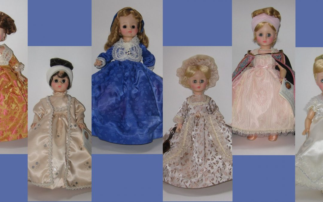 14″ First Lady Dolls by Madame Alexander – First Series (1976-78)