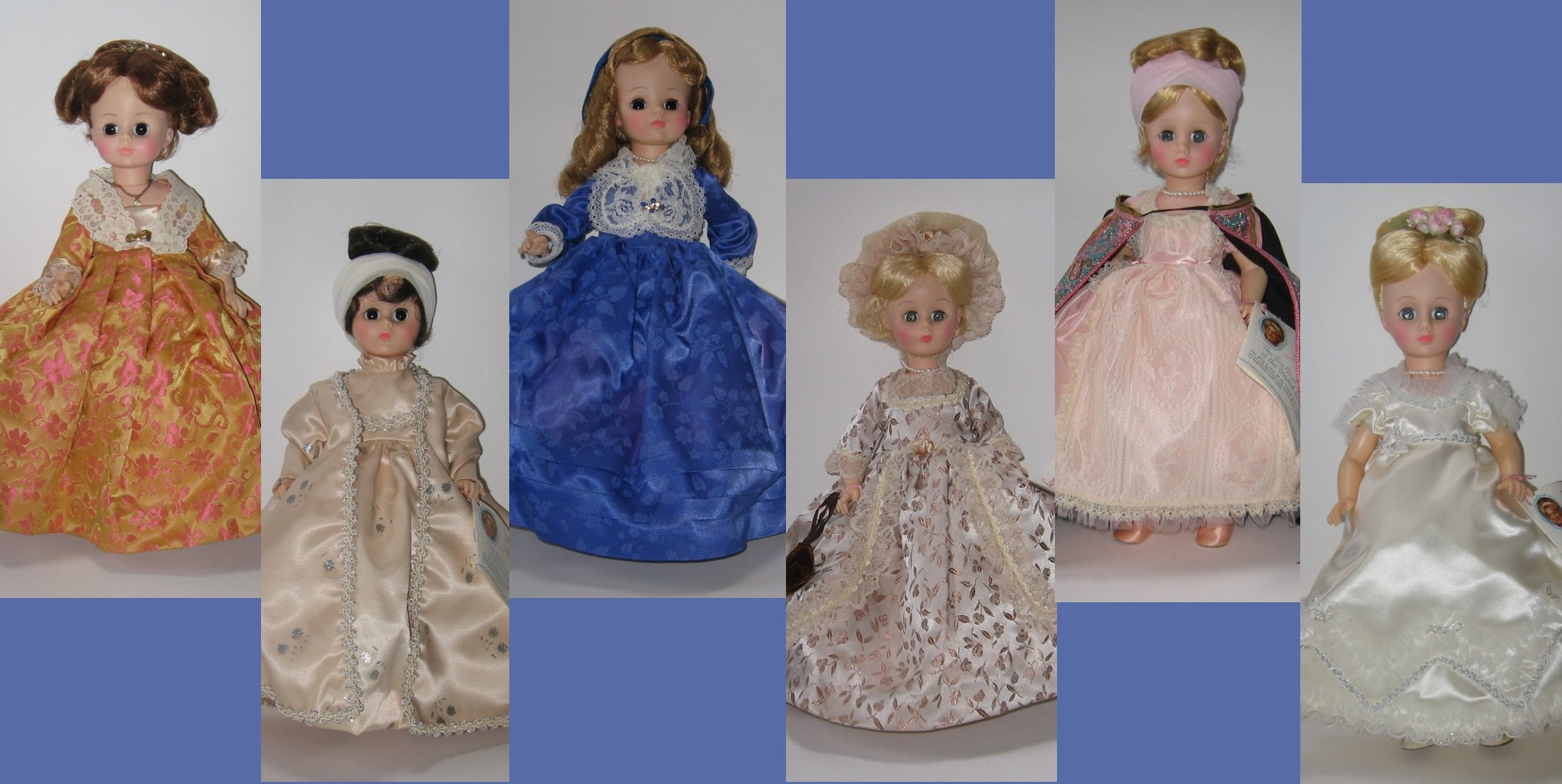 "Alexander 14"" First Lady dolls, first series"