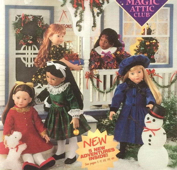 Magic Attic Club Holiday 1998 Catalog