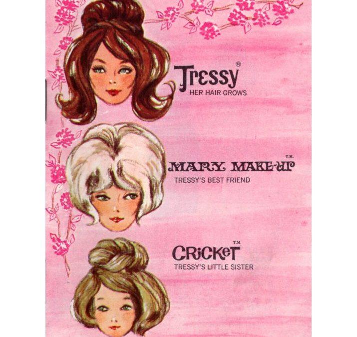 Tressy, Mary Make-up & Cricket Booklet