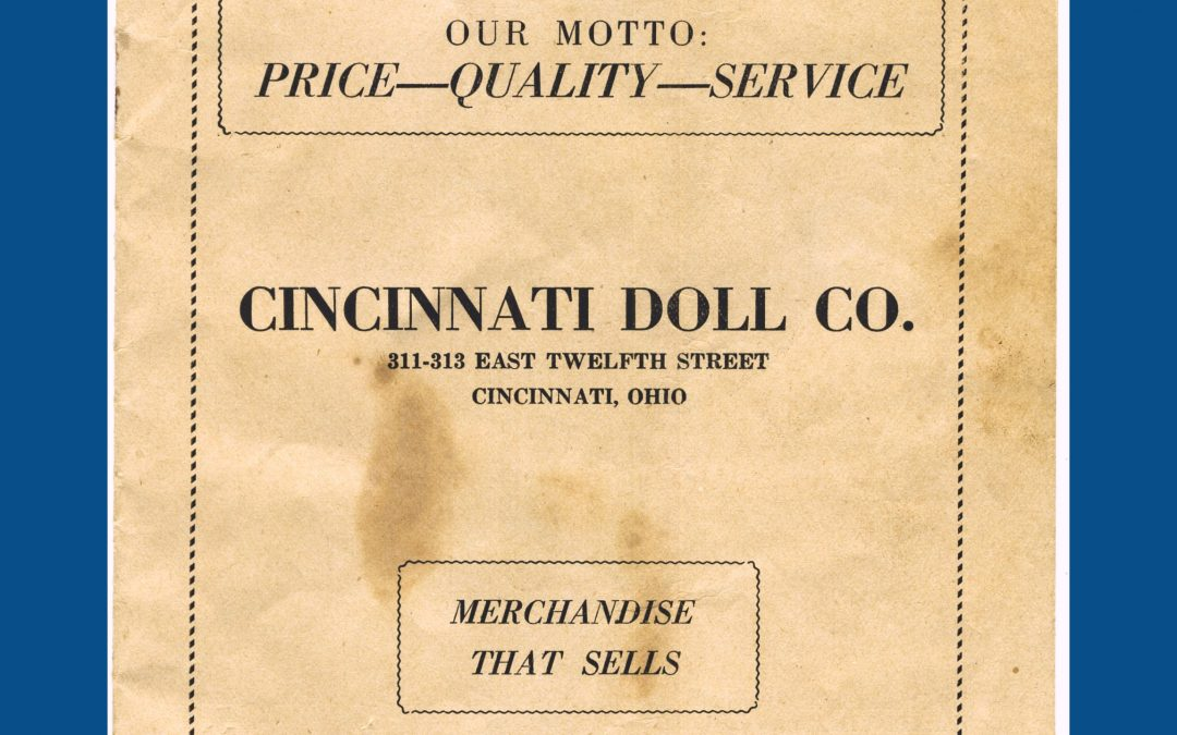1924 Cincinnati Doll Co. Catalog – Composition Carnival Kewpie Dolls