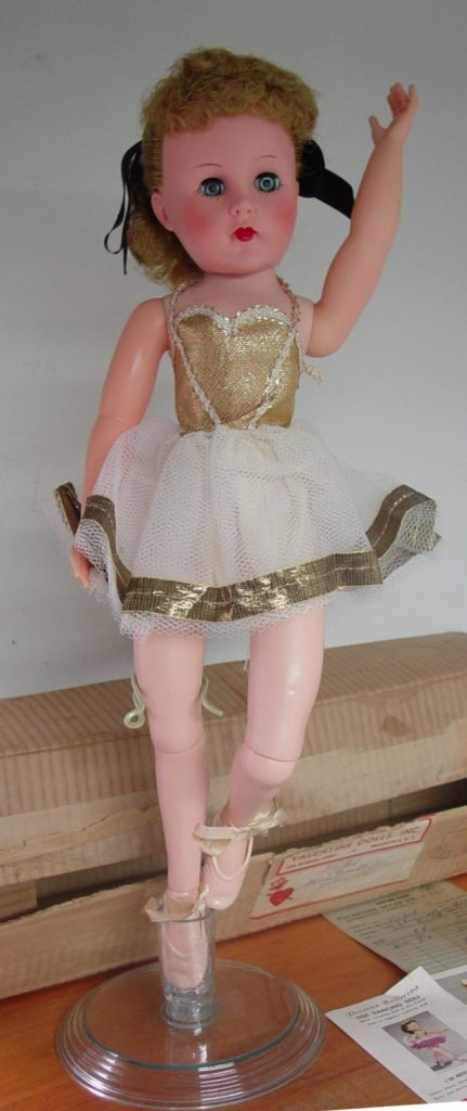 Doreena Ballerina doll by Valentine