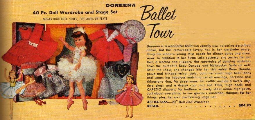 Doreena Ballerina ad