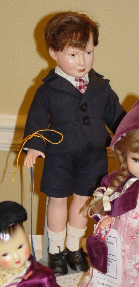 Dewees Cochran boy doll