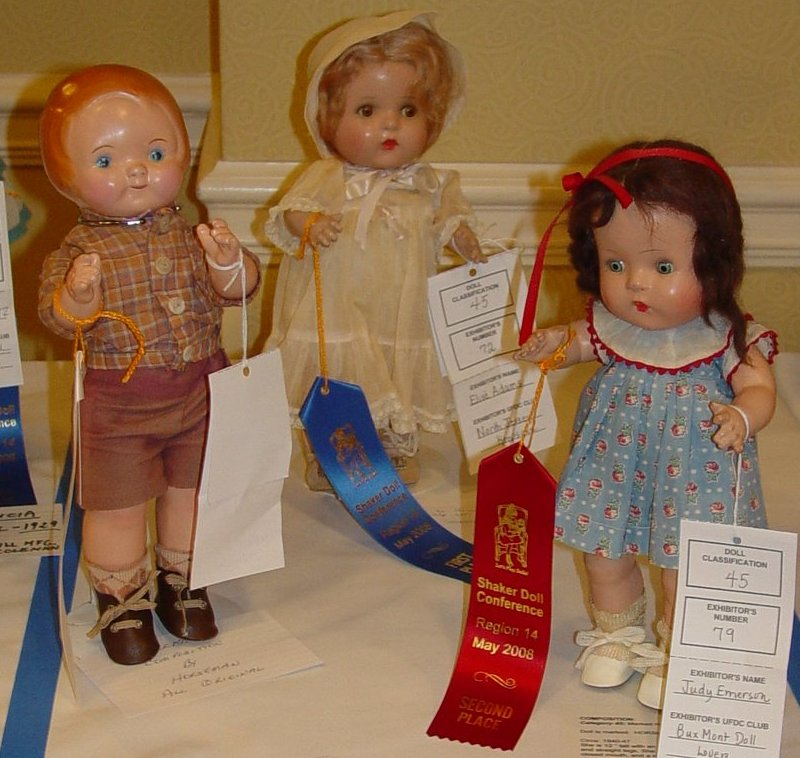 Horsman composition dolls