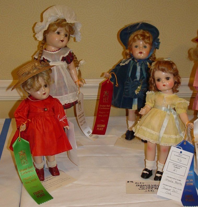Madame Alexander composition dolls