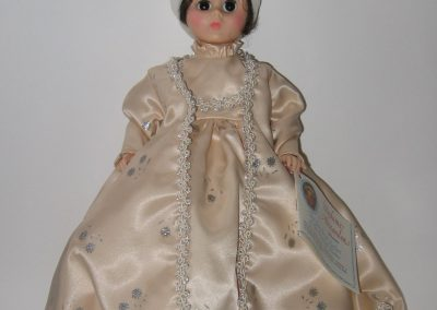 Dolley Madison doll by Madame Alexander